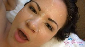 It felt so good to cum all over her face